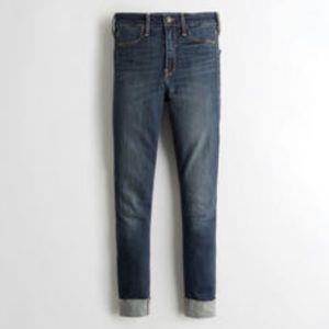 Hollister high rise crop Jean legging